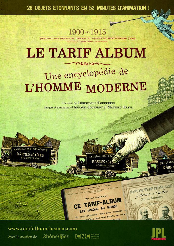 le-tarif-album-une-encyclopedie-de-l-homme-moderne-affiche